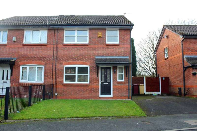 3 Bedrooms Semi Detached House for sale in Ashby Close, Farnworth
