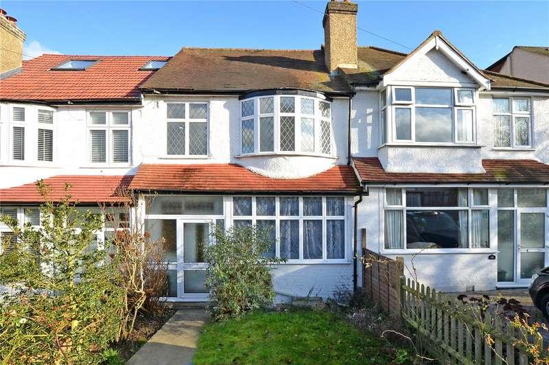 3 Bedrooms Terraced House for sale in Bridgewood Road, Worcester Park, Surrey, KT4