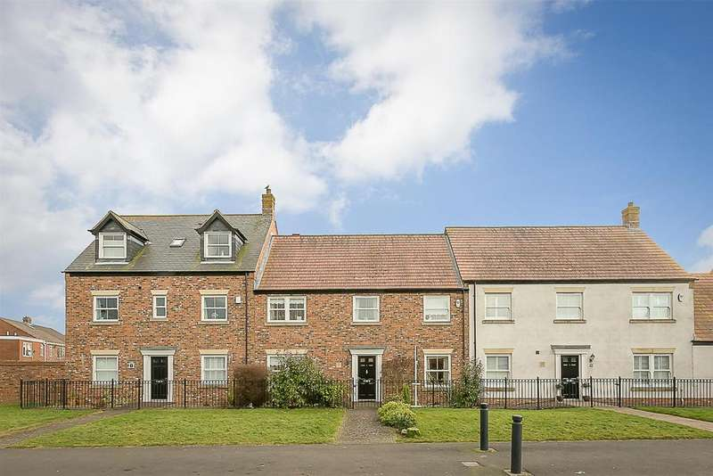 4 Bedrooms Terraced House for sale in Netherwitton Way, Great Park, Newcastle upon Tyne