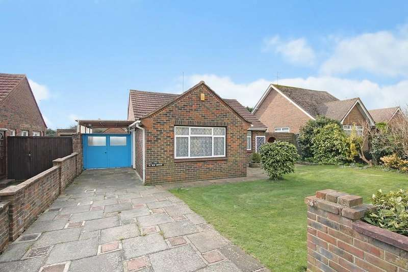 3 Bedrooms Detached Bungalow for sale in Manor Road, Lancing
