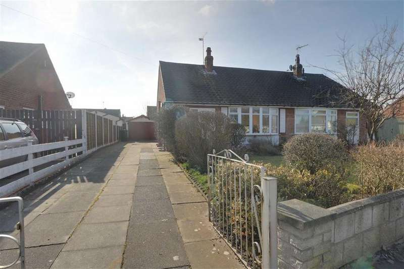 2 Bedrooms Semi Detached Bungalow for sale in Masefield Drive, Crewe