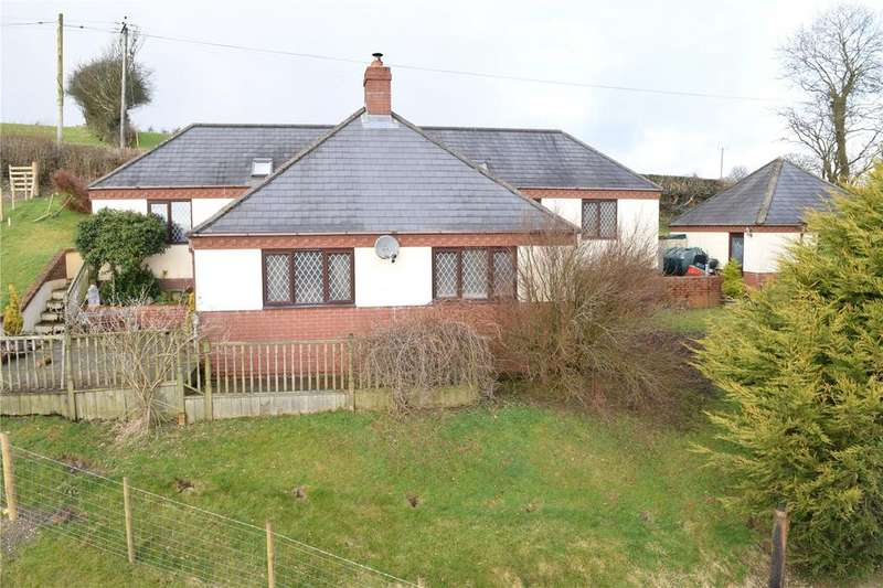 3 Bedrooms Detached Bungalow for sale in Llanfair Caereinion, Welshpool, Powys