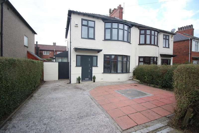 3 Bedrooms Semi Detached House for sale in Sulby Drive, Preston