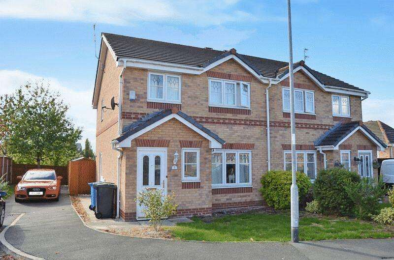 3 Bedrooms Semi Detached House for sale in Redtail Close, Runcorn