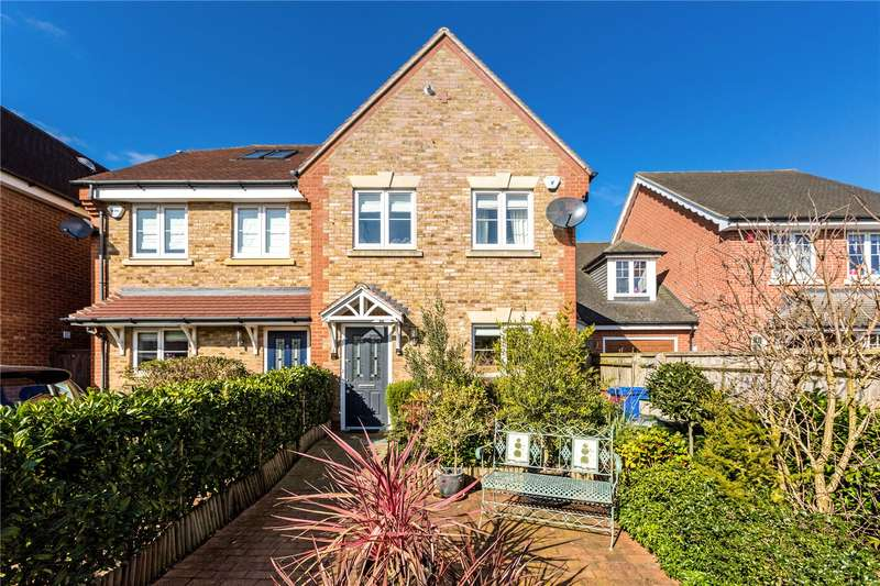 3 Bedrooms Semi Detached House for sale in Woodbury Close, Maidenhead, Berkshire, SL6