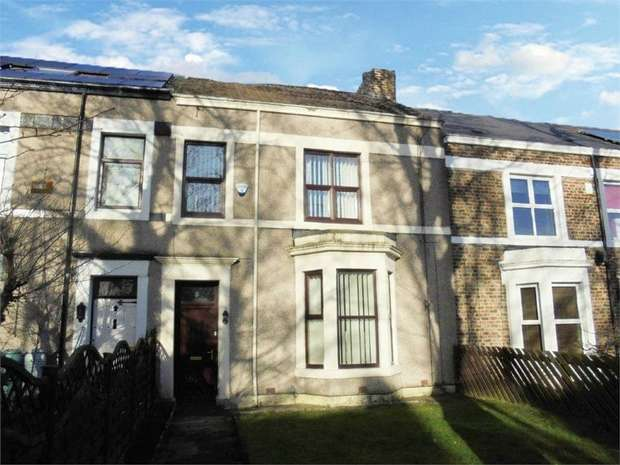 4 Bedrooms Terraced House for sale in Croft Terrace, Jarrow, Tyne and Wear