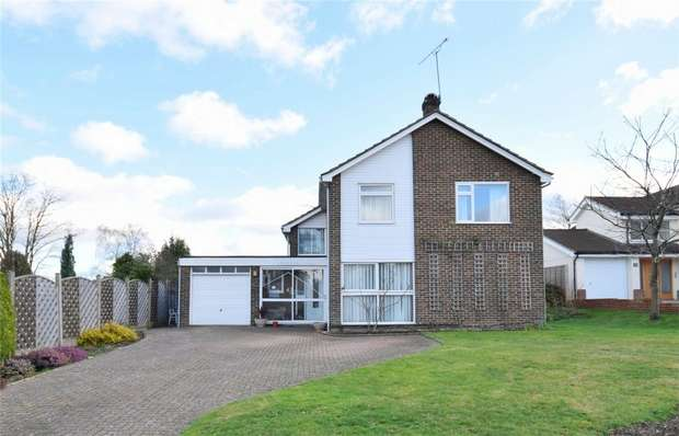 5 Bedrooms Detached House for sale in 43 Chipstead Park, Sevenoaks, Kent