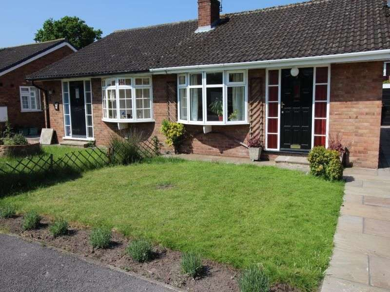 2 Bedrooms Semi Detached Bungalow for rent in St. Marys Close, Wigginton, York, YO32