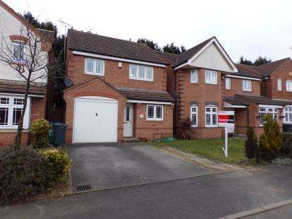 3 Bedrooms Detached House for sale in Aster Way, Walsall, West Midlands, .