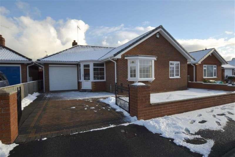 2 Bedrooms Detached Bungalow for sale in Keppel Close, Bridlington, East Yorkshire, YO16