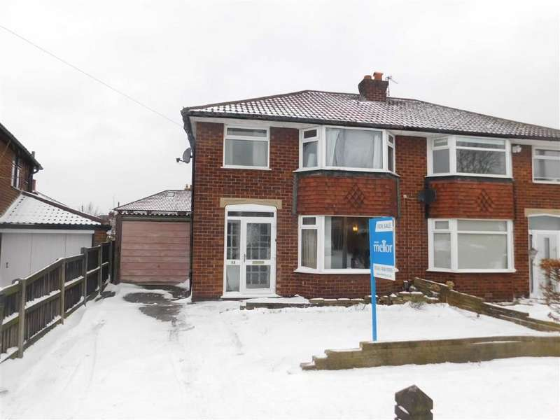 3 Bedrooms Semi Detached House for sale in Pennine Road, Woodley, Stockport