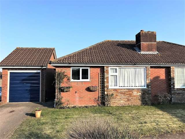 2 Bedrooms Semi Detached Bungalow for sale in Cembra Close, Honiton