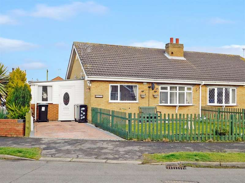 2 Bedrooms Semi Detached Bungalow for sale in South Crescent, Chapel St Leonards, Skegness, PE24 5RQ