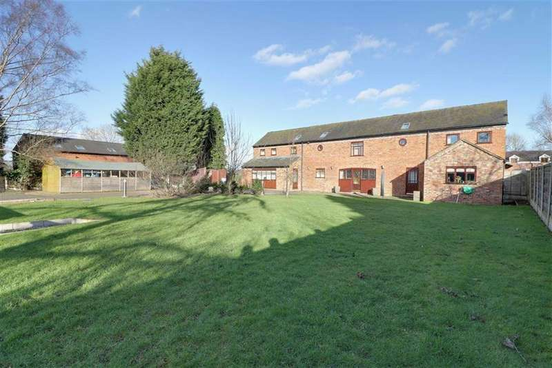 5 Bedrooms Barn Conversion Character Property for sale in Newcastle Road South, Brereton, Sandbach