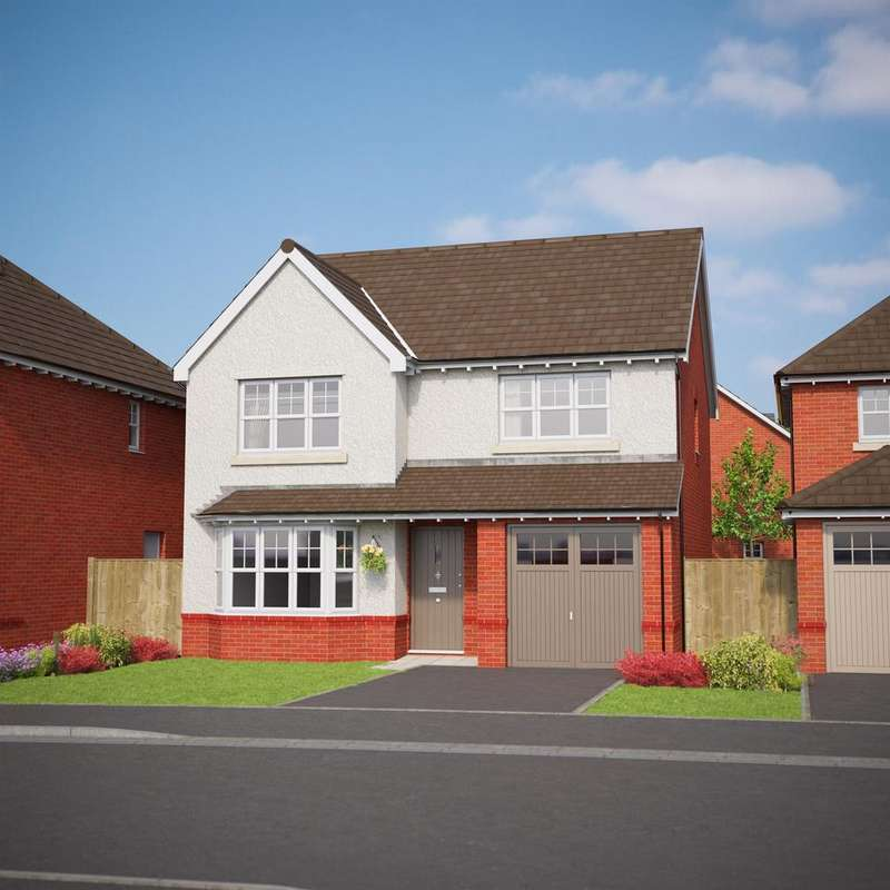 4 Bedrooms Detached House for sale in The Wentworth, Bryn Y Mor, Old Colwyn, LL29 8UU