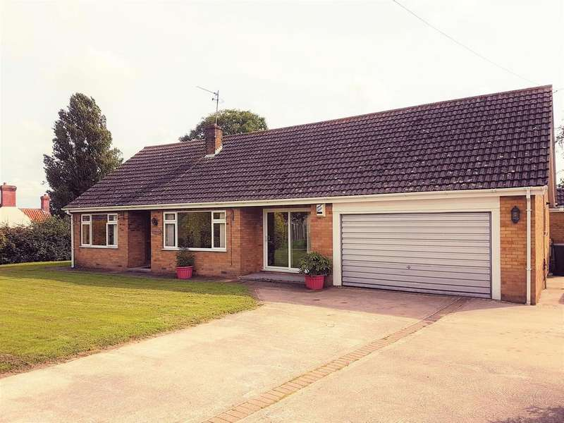 4 Bedrooms Detached Bungalow for sale in Partney Road, Sausthorpe, Spilsby, PE23 4JL