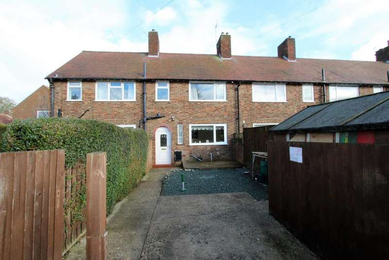 2 Bedrooms Terraced House for sale in Carlton Park, Manby, Louth, LN11 8UQ