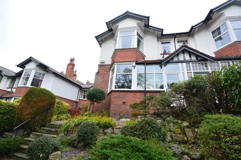 4 Bedrooms Semi Detached House for sale in Royal Avenue, Scarborough, YO11 2LS
