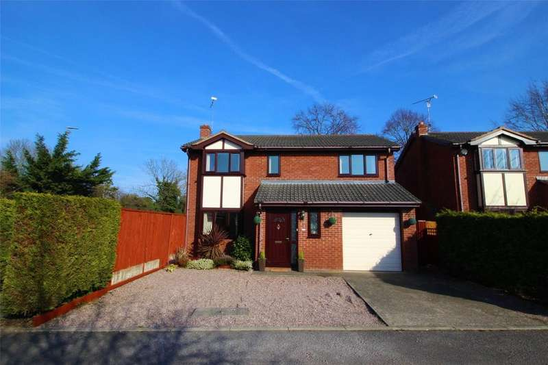 4 Bedrooms Detached House for sale in Cavendish Close, Chester Road, Gresford, LL12