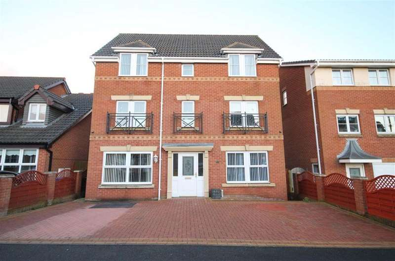 4 Bedrooms Detached House for sale in Rushmore Drive, Widnes, WA8 9QB