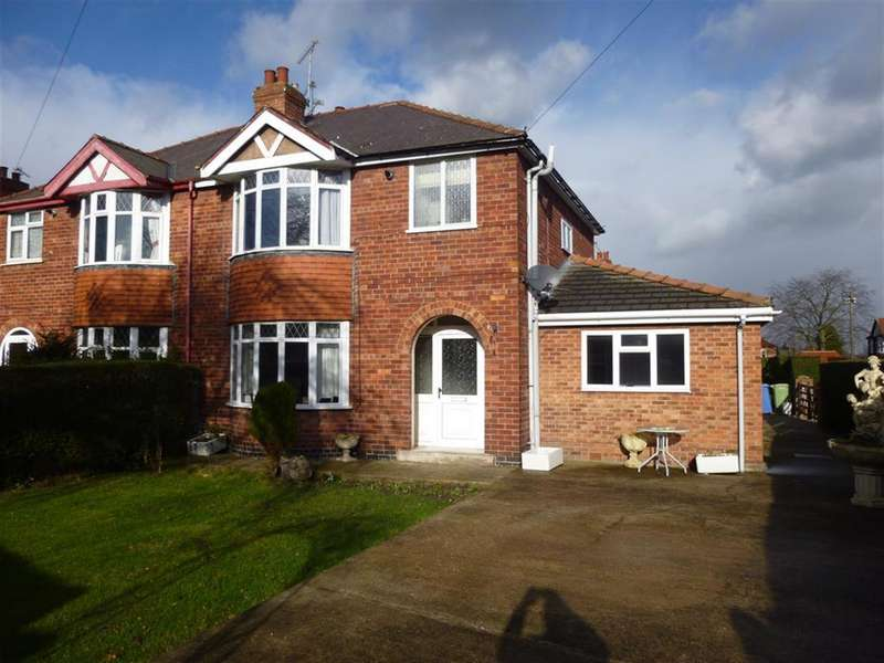 4 Bedrooms Semi Detached House for sale in Grove Coach Road, Retford, DN22 7HU