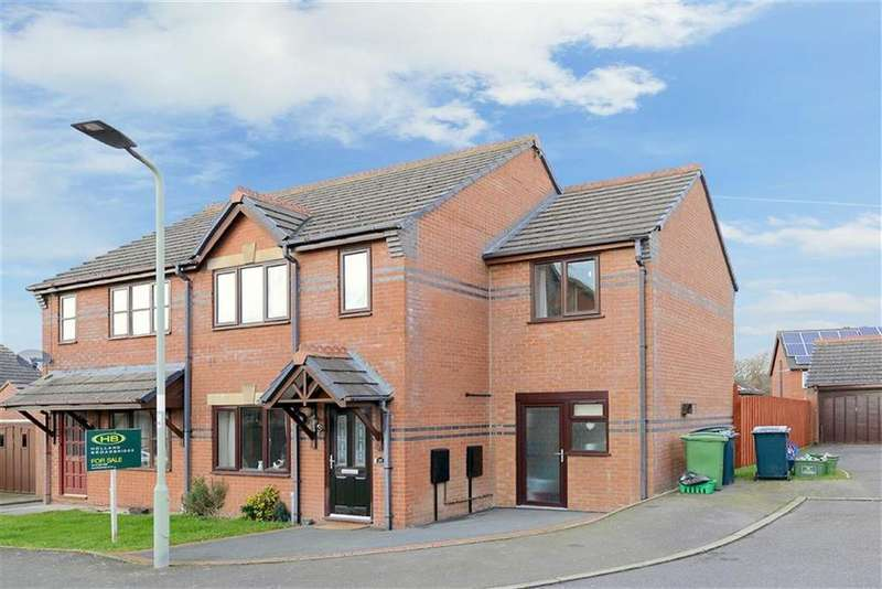 4 Bedrooms Semi Detached House for sale in Ash Lea, Minsterley, Shrewsbury, Shropshire