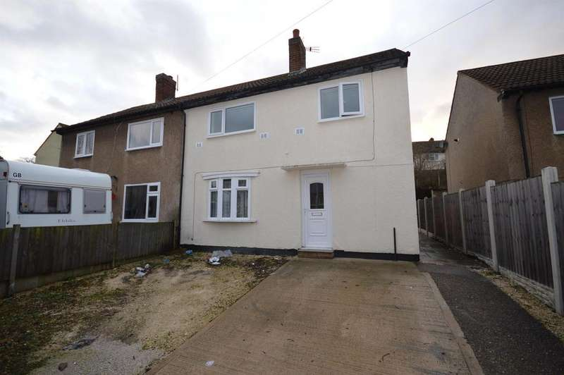3 Bedrooms Semi Detached House for rent in Hereford Drive, Brimington, Chesterfield, S43 1DT