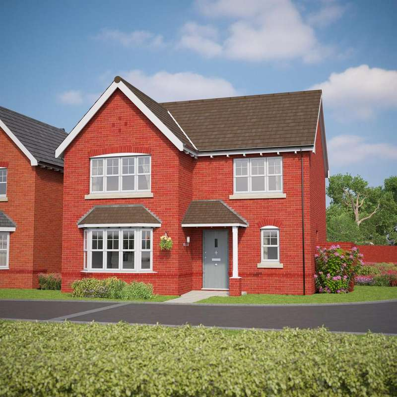4 Bedrooms Detached House for sale in The Chatsworth, Bryn Y Mor, Old Colwyn, LL29 8UU