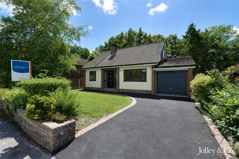 3 Bedrooms Detached Bungalow for sale in Keswick Road, High Lane, STOCKPORT, Cheshire