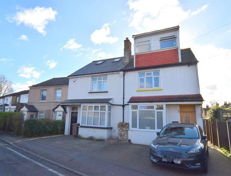 4 Bedrooms Semi Detached House for sale in Manor Lane, Sutton, SM1