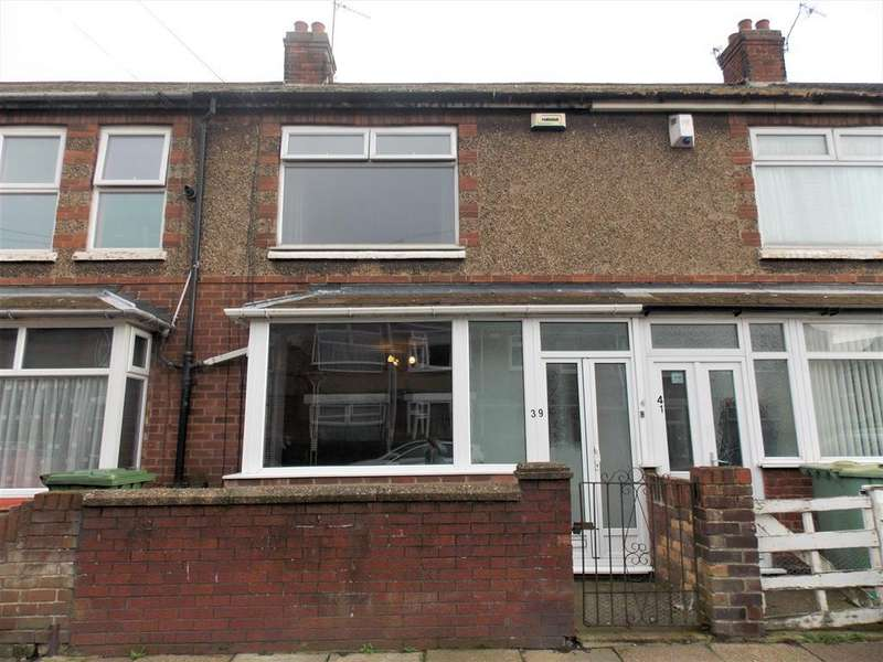 3 Bedrooms Terraced House for sale in Roseveare Avenue, Grimsby, DN34 4BE