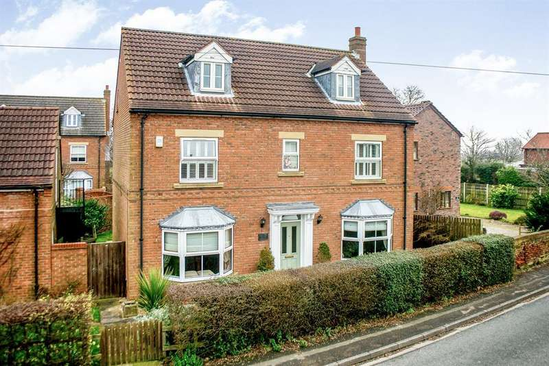 5 Bedrooms Detached House for sale in Paddock Lodge, Hirst Road, Chapel Haddlesey, Selby, YO8 8QQ