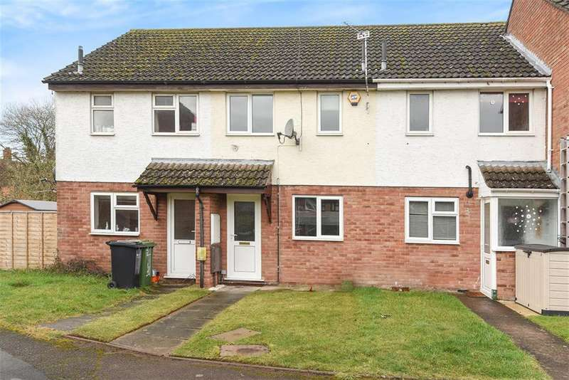 2 Bedrooms Terraced House for sale in 6 Withybrook Close, Hereford, HR2 6RD
