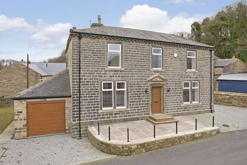 4 Bedrooms Detached House for sale in Woodfield Road, Cullingworth, BD13 5JL
