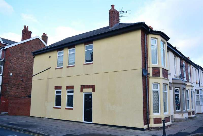 2 Bedrooms End Of Terrace House for sale in Kent Road, Blackpool, FY1 5HB