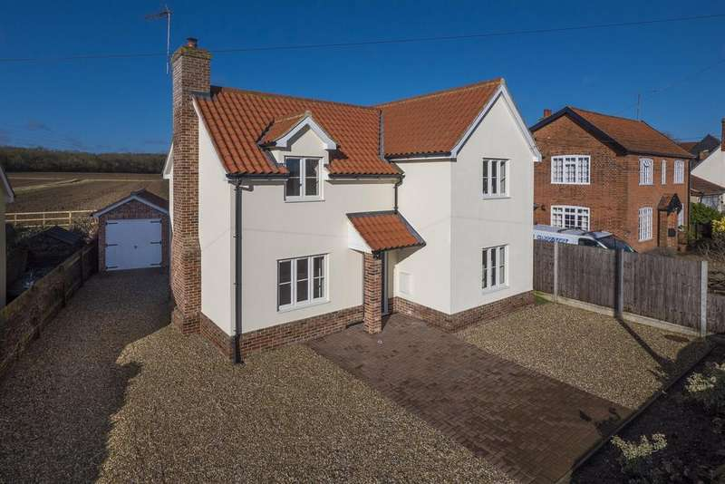 3 Bedrooms Detached House for sale in Duke Street, Hintlesham, IP8 3PN