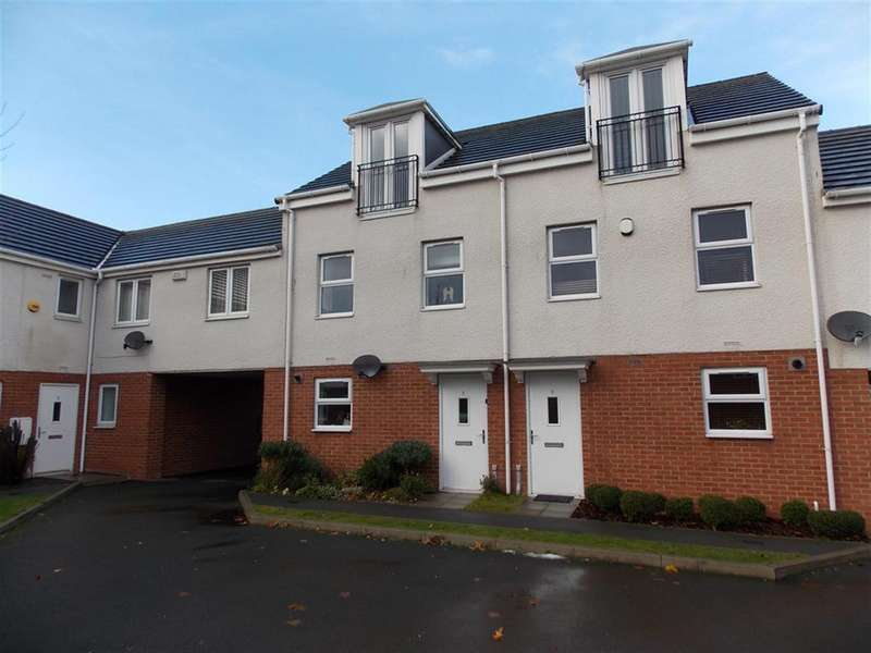 3 Bedrooms Town House for sale in Orme Court, North Ormesby, Middlesbrough, TS3 6LT