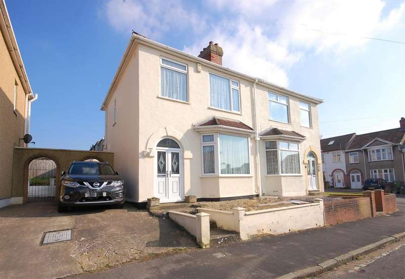 3 Bedrooms Semi Detached House for sale in Beaufort Road, Kingswood, Bristol, BS15 1NF