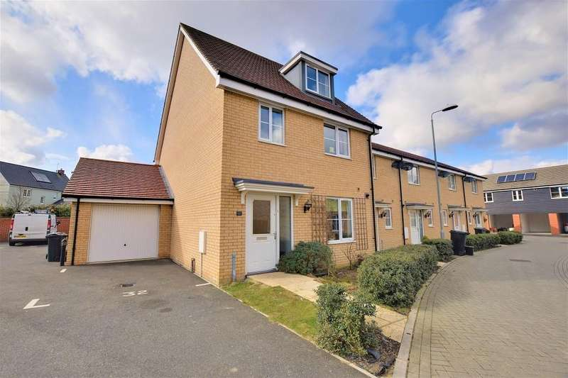 4 Bedrooms Semi Detached House for sale in The Croft, Priors Green