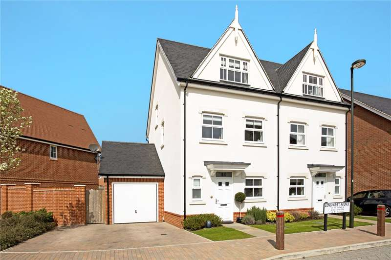 3 Bedrooms Semi Detached House for sale in Longhurst Avenue, Horsham, West Sussex, RH12