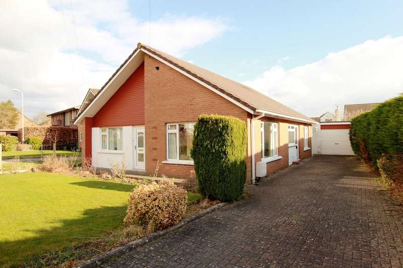 3 Bedrooms Detached Bungalow for sale in Brechfa Close, Ponthir, Newport, NP18