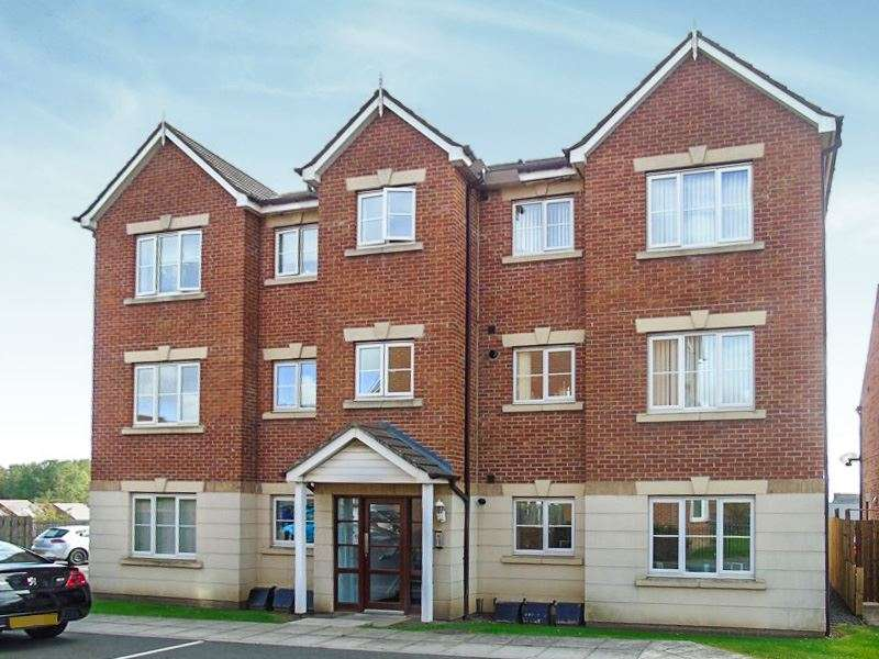 2 Bedrooms Apartment Flat for sale in Haydon Drive, Wallsend, North Tyneside, NE28 0BH