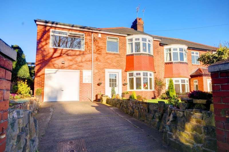 3 Bedrooms Semi Detached House for sale in Park Road North, Chester Le Street, DH3