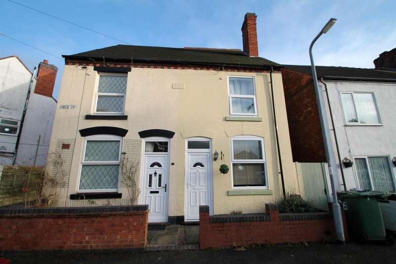 2 Bedrooms Semi Detached House for sale in Field Street, Cannock
