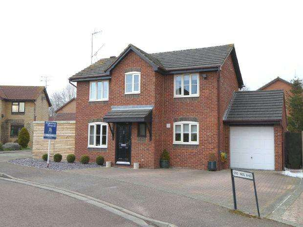3 Bedrooms Detached House for sale in Brinkburn Grove, Banbury