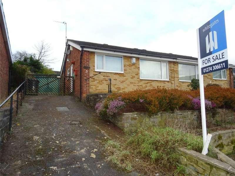 2 Bedrooms Semi Detached Bungalow for sale in Oakdale Close, Bradford, West Yorkshire, BD10