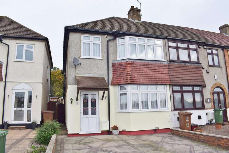 4 Bedrooms End Of Terrace House for sale in Lakeside Close, Sidcup, Kent, DA15 9PW