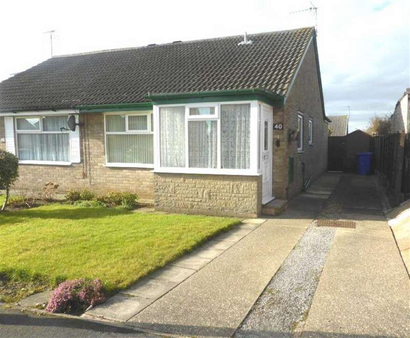 2 Bedrooms Semi Detached Bungalow for rent in Thoresby Close, Bridlington, East Yorkshire