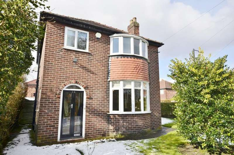 3 Bedrooms Detached House for sale in Moss Lane, Timperley, Altrincham