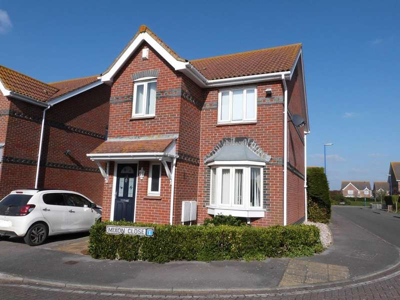3 Bedrooms Link Detached House for sale in Mixon Close, Selsey